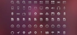 Free download: 120 vector glyph icons